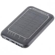 Зарядка на солнечных батареях (Solar charger) 2600 мАч