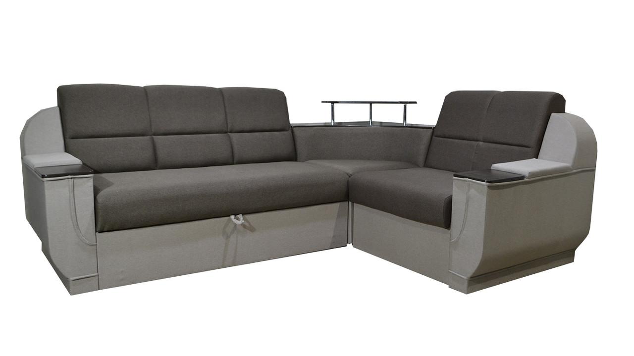 Кутовий диван Меркурій, різні варіанти забарвлення