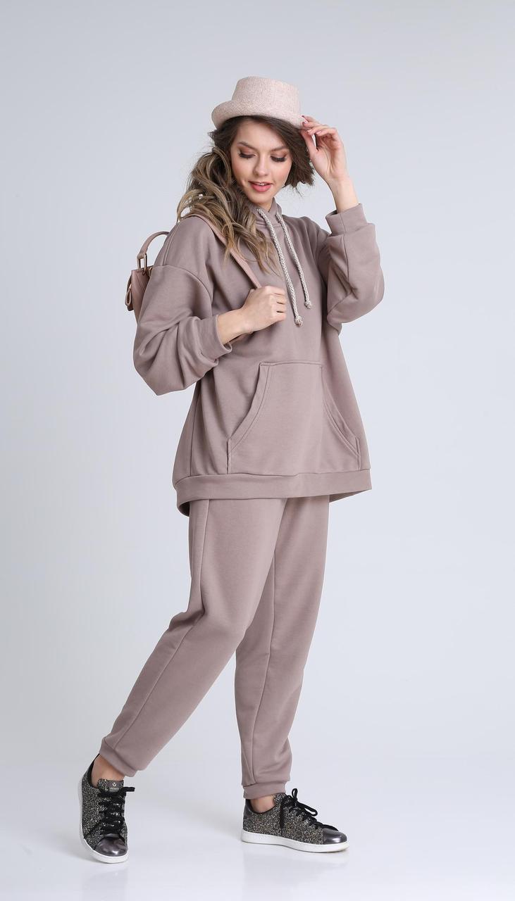 Спортивная одежда Sandyna-13927/2 белорусский трикотаж, лиловый, 44