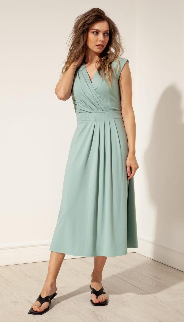 Сукня Nova Line-50094 білоруський трикотаж, м'ятний, 42