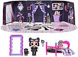 ЛОЛ Леди-Сумерки Игровой набор с куклой L.O.L. Surprise Cozy Zone with Dusk Doll Furniture Спальня LOL 572640, фото 5