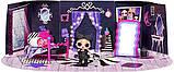 ЛОЛ Леди-Сумерки Игровой набор с куклой L.O.L. Surprise Cozy Zone with Dusk Doll Furniture Спальня LOL 572640, фото 6