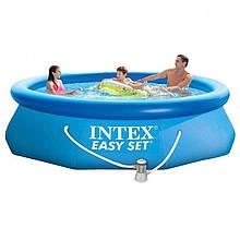 Надувной бассейн Intex 28118, 305-61см + фильтр-насос