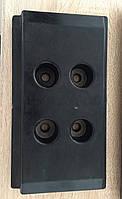 Резиновые башмаки(траки) для асфальтоукладчика VOGEL