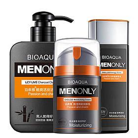 Набір BIOAQUA Men Only Set 3 в 1 для догляду за шкірою обличчя КОД: 3952-11459