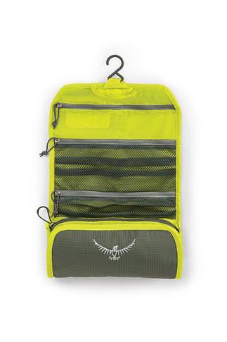 Косметичка Osprey Washbag Roll Electric Lime, фото 3