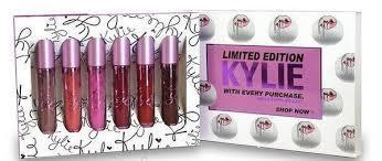 Жидкие матовые помады Kylie Limited Edition  6 штук