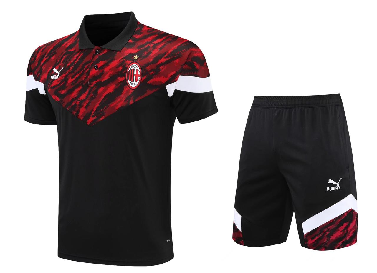 Летний спортивный тренировочный костюм Милан 2021-22