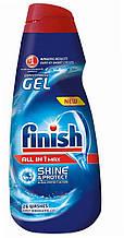 Гель Фініш для миття посуду в посудомийній машині Finish All in 1 Max Shine & Protect Concentrated Dishwashe