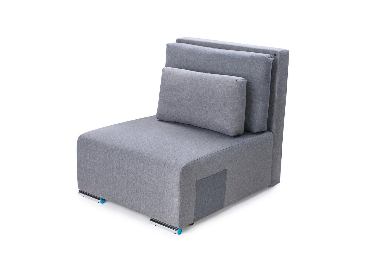 """Кресло кровать """"Lester"""" светло серое (Н21/Н05)"""