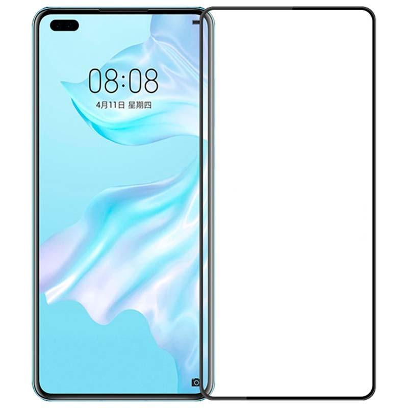 Защитное стекло Mocolo для Huawei P40 (HW4678) 2.5D Curved Full Cover Glass с олеофобным покрытием
