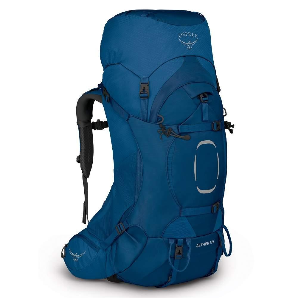 Рюкзак Osprey Aether 55 S/M (2021) Deep Water Blue