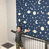 Римські штори в дитячу з фотодруком