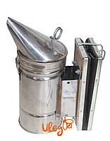 Димар пасічний з нержавіючої сталі хутро - шкірозамінник