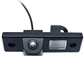 Штатная камера заднего вида Lesko для Chevrolet Aveo, Cruze  КОД: 4372-12821