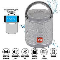 Портативна Bluetooth Колонка T&G TG518 сірий, фото 1