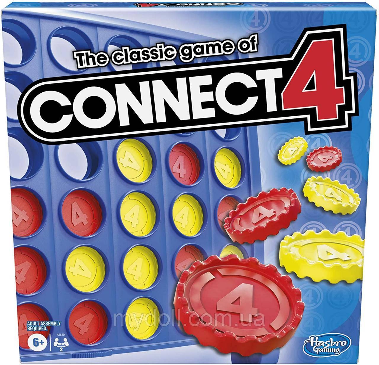 Настільна логічна гра Connect 4 Game від Hasbro