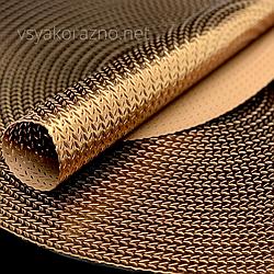 Сервировочный коврик  40см,  Темное золото