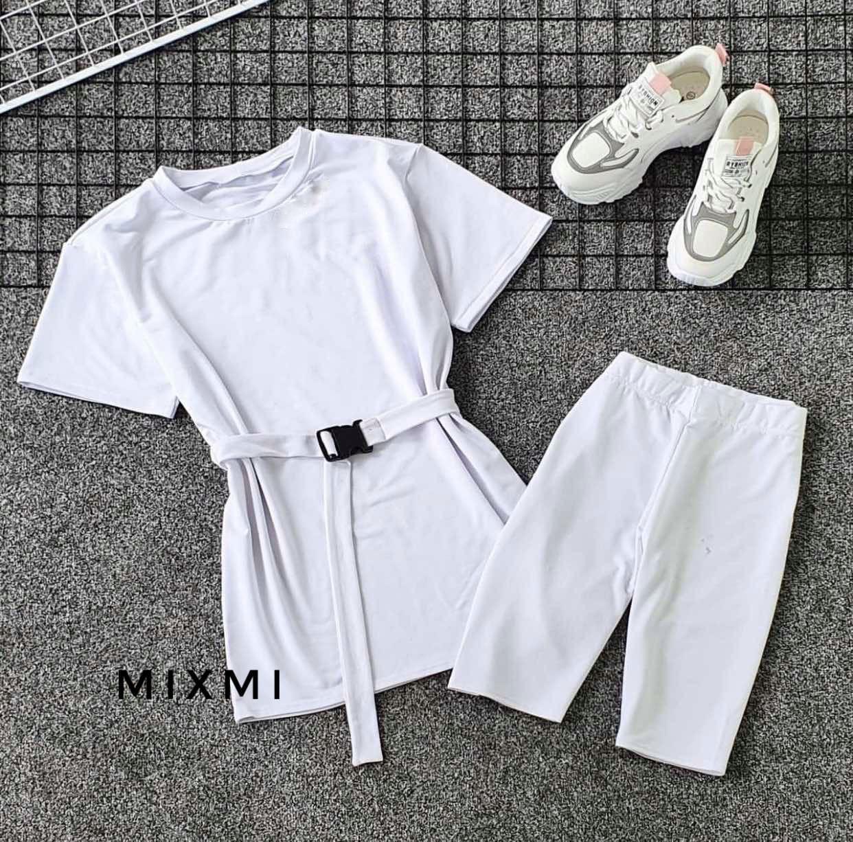 Жіночий костюм, двунить, р-р 42-44; 44-46 (білий)
