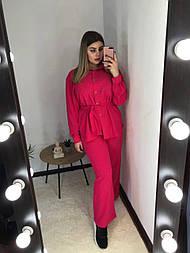 Женский летний костюм 52/54, красный