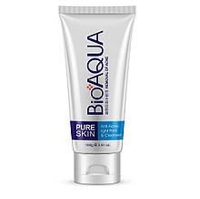 Пенка для умывания Bioaqua Pure Skin Anti Acne - Light Print & Cleanser, 100г