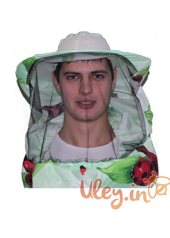 Маска бджоляра лицьова, тканина