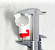 Ниппельная поилка с креплением на круглую трубу 25 мм (360 градусов), фото 8