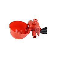 14 мм. Чашечная поилка для кур перепелов  Чашечные поилки для всех видов птиц