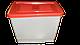 Бак для поения кур бройлеров перепелов кроликов для ниппельных поилок. Емкость для ниппельного поения, фото 2