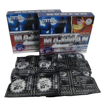 Препарат Максмэн 40% - препарат для увеличения члена и сильнейшей потенции 8 капсул упаковка