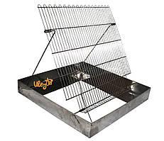 Ванночка для распечатывания пчелиных рамок (нержавеющая сталь)