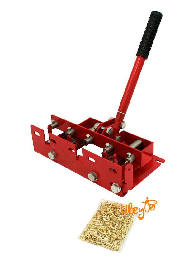 Діркопробивач пасічний універсальний в комплекті з втулками для рамок, 100г. (800шт.) 3х6.6 мм