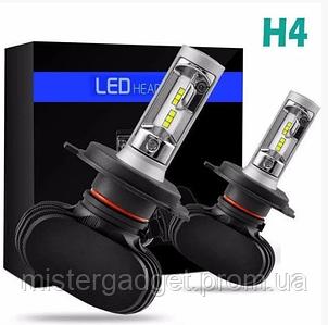 Автолампи Світлодіодні LED 6500K 4000lm Цоколь H4