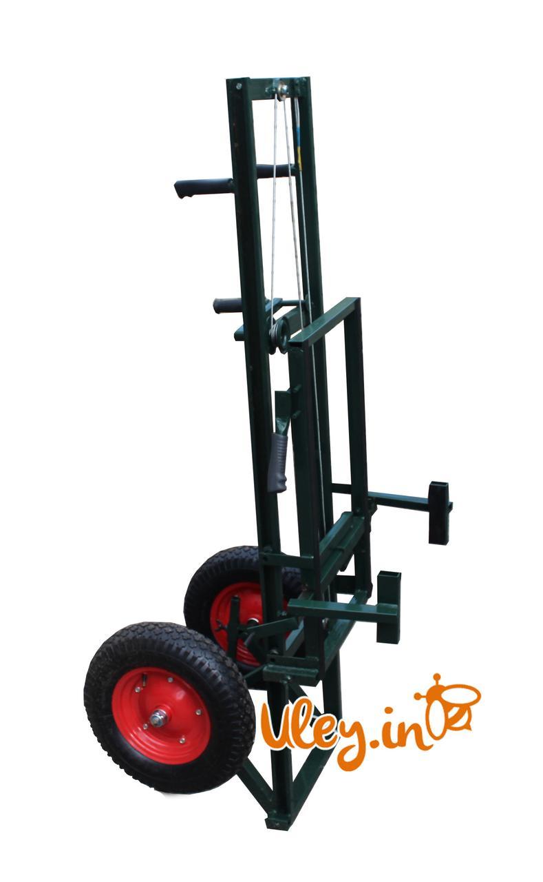 """Апилифт """"М-1""""— пасічна візок-підйомник, посилені колеса з підкачкою"""
