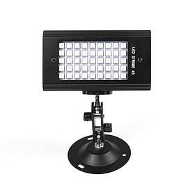 Світлодіодний проектор EKOOT PSD-45 LED DJ mini flash диско стробоскоп КОД: 5203-15738
