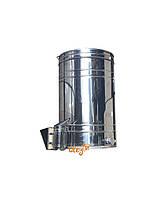 Бак отстойник для меда с нержавеющим фильтром 150 л