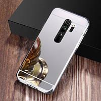 Чехол Fiji Mirror для Oppo A5 2020 силикон зеркальный бампер металлик