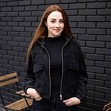 Куртка жіноча Манірна Meri чорна