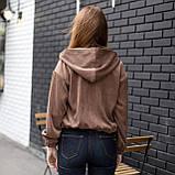 Куртка жіноча Манірна Meri коричнева, фото 4