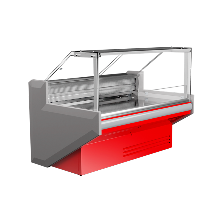 Холодильна вітрина Juka (Юка) FGL 160 / Холодильна вітрина JUKA FGL 160