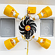 Инкубатор механический Теплуша ИБ 100 ЛВ Ламповый с влагомером, фото 9