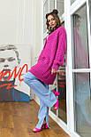 Длинная кофта-кардиган на пуговицах «Илона», 44-52, фото 4