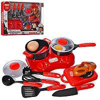 Детская посудка с продуктами,детская кухня,набор посуды 7710-1