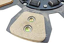 Диск сцепления МТЗ-80-1523 80-1601130 - 6 лепестков, керамика. Диск зчеплення МТЗ 80 керамічний | VTR