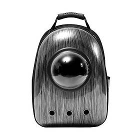 Рюкзак-переноска для кошек Taotaopets Window Shabby Grey  КОД: 5534-18250