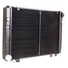 Радіатор охолодження ГАЗ 3302 (2-х рядний) (під рамку) н/о | пр-во ШААЗ