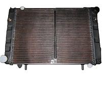 Радіатор охолодження ГАЗ 3302 (3-х рядний) (під рамку) мідний | Дорожня карта