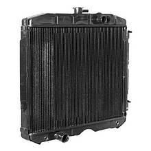 Радиатор охлаждения ГАЗ 3307 (3-х рядный) | пр-во Бишкек