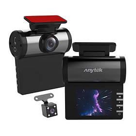 Відеореєстратор Anytek H1 IPS 2 КОД: 6426-20036