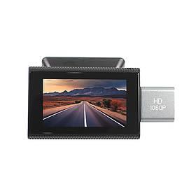 Автомобільний відеореєстратор Lesko F8 GPS Android 8.1 КОД: 5922-20111